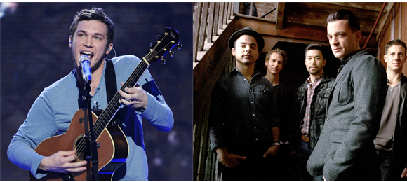 O.A.R. & Phillip Phillips at Firstmerit Bank Pavilion