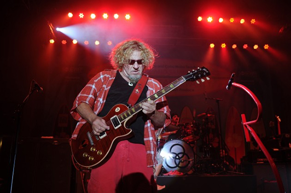 sammy hagar and the circle huntington bank pavilion at northerly island. Black Bedroom Furniture Sets. Home Design Ideas