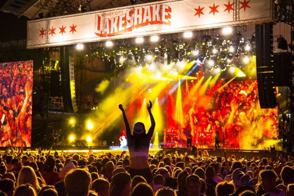 2017 Windy City LakeShake Festival - 3 Day Pass at Firstmerit Bank Pavilion