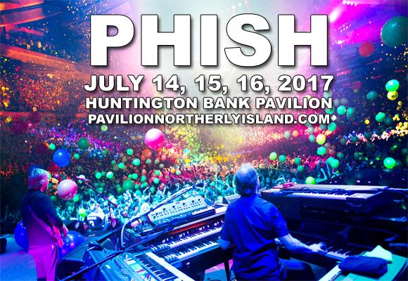 Phish at Huntington Bank Pavilion at Northerly Island