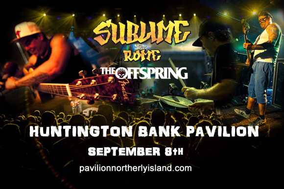 Sublime With Rome & The Offspring at Huntington Bank Pavilion at Northerly Island