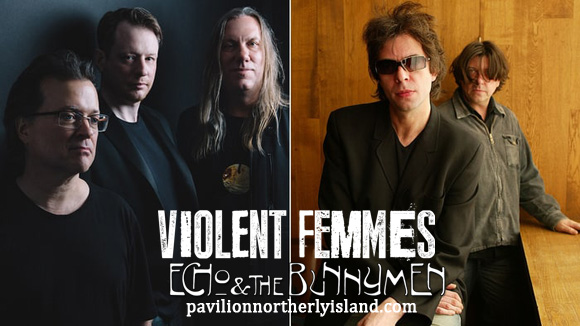 Violent Femmes & Echo and The Bunnymen at Huntington Bank Pavilion at Northerly Island