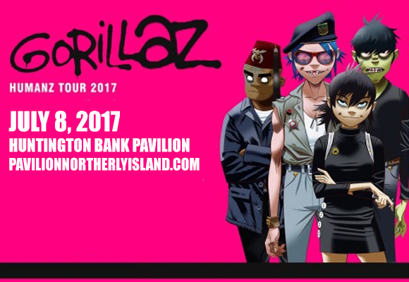 Gorillaz at Huntington Bank Pavilion at Northerly Island