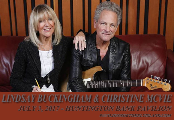 Lindsey Buckingham & Christine McVie at Huntington Bank Pavilion at Northerly Island