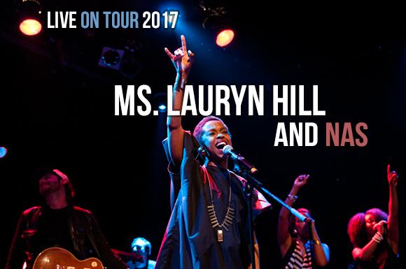 Lauryn Hill & Nas at Huntington Bank Pavilion at Northerly Island