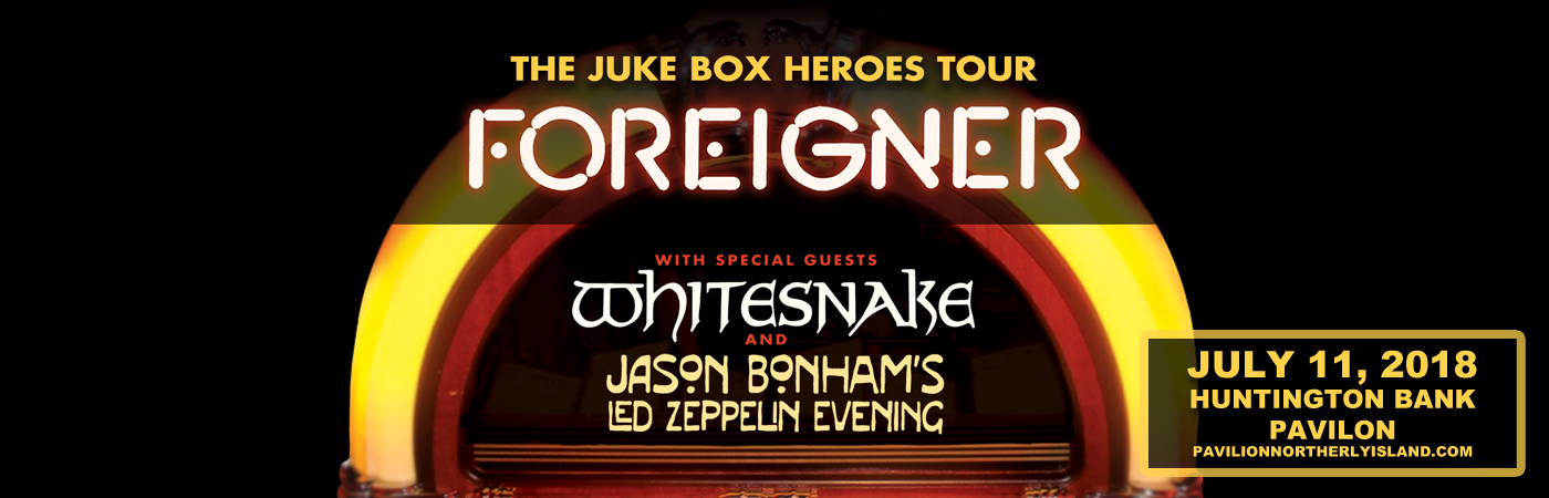 Foreigner & Whitesnake at Huntington Bank Pavilion at Northerly Island