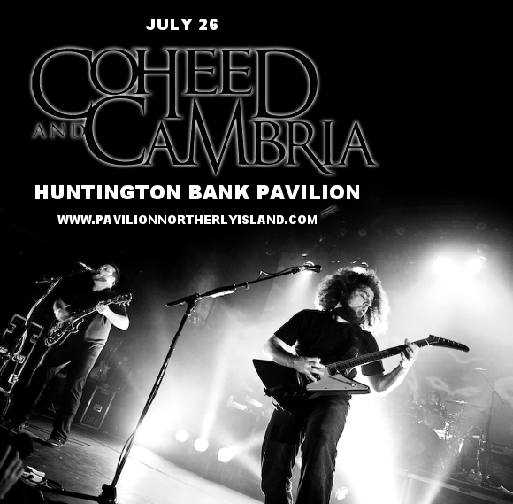 Coheed and Cambria & Taking Back Sunday at Huntington Bank Pavilion at Northerly Island