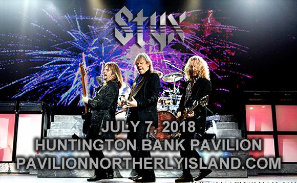 Styx, Joan Jett, The Blackhearts & Tesla at Huntington Bank Pavilion at Northerly Island