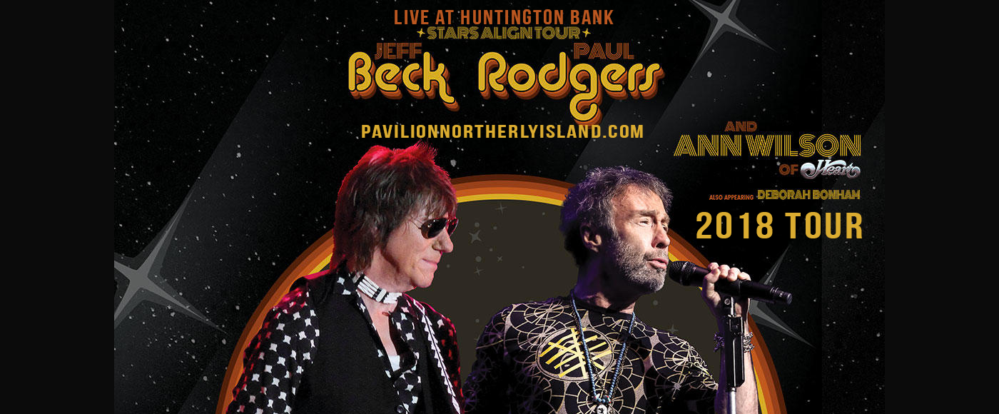 Jeff Beck, Paul Rodgers & Ann Wilson at Huntington Bank Pavilion at Northerly Island