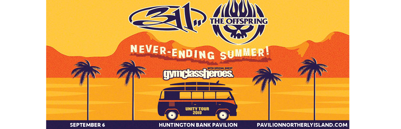 311 & The Offspring at Huntington Bank Pavilion at Northerly Island