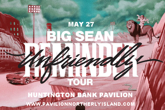 Big Sean at Huntington Bank Pavilion at Northerly Island