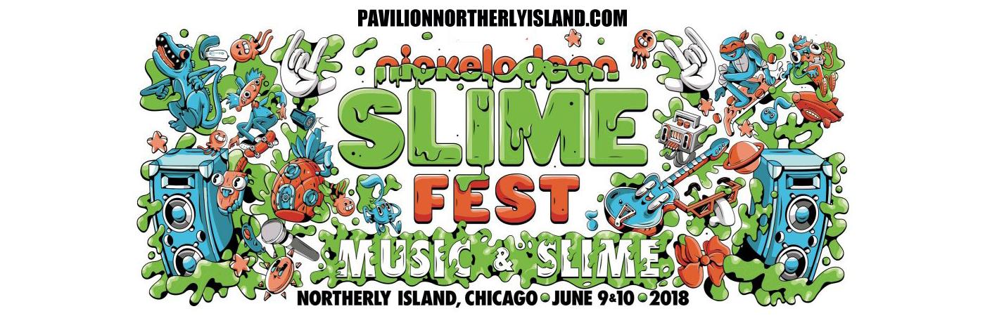 Nickelodeon Slimefest at Huntington Bank Pavilion at Northerly Island