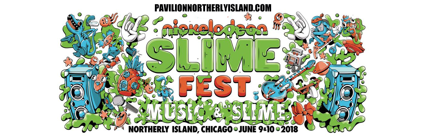 Nickelodeon Slimefest at Huntington Bank Pavilion at Northerly Island