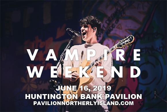 Vampire Weekend at Huntington Bank Pavilion at Northerly Island