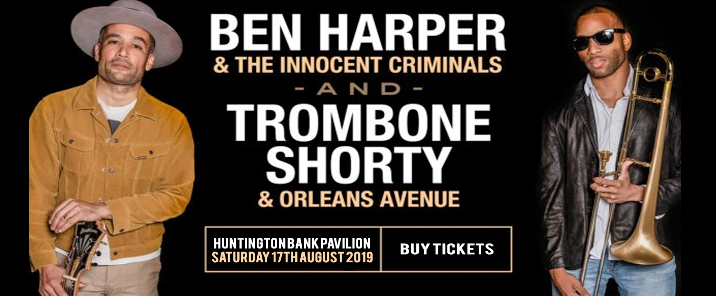 Ben Harper and The Innocent Criminals, Trombone Shorty & Orleans Avenue at Huntington Bank Pavilion at Northerly Island