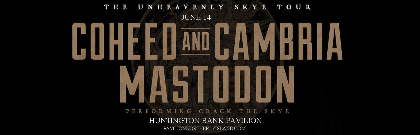 Coheed and Cambria & Mastodon at Huntington Bank Pavilion at Northerly Island