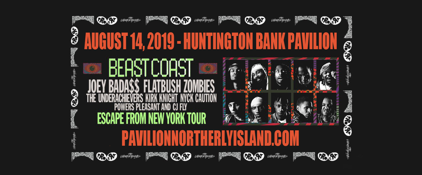 Beast Coast: Joey Bada$$, Flatbush Zombies, The Underachievers, Kirk Knight & Nyck Caution at Huntington Bank Pavilion at Northerly Island