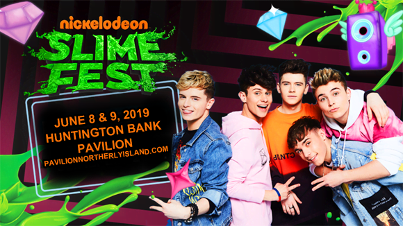 Nickelodeon Slimefest - Sunday at Huntington Bank Pavilion at Northerly Island