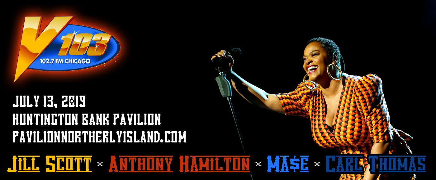 V103 Summer Block Party: Jill Scott, Anthony Hamilton, Mase & Carl Thomas at Huntington Bank Pavilion at Northerly Island
