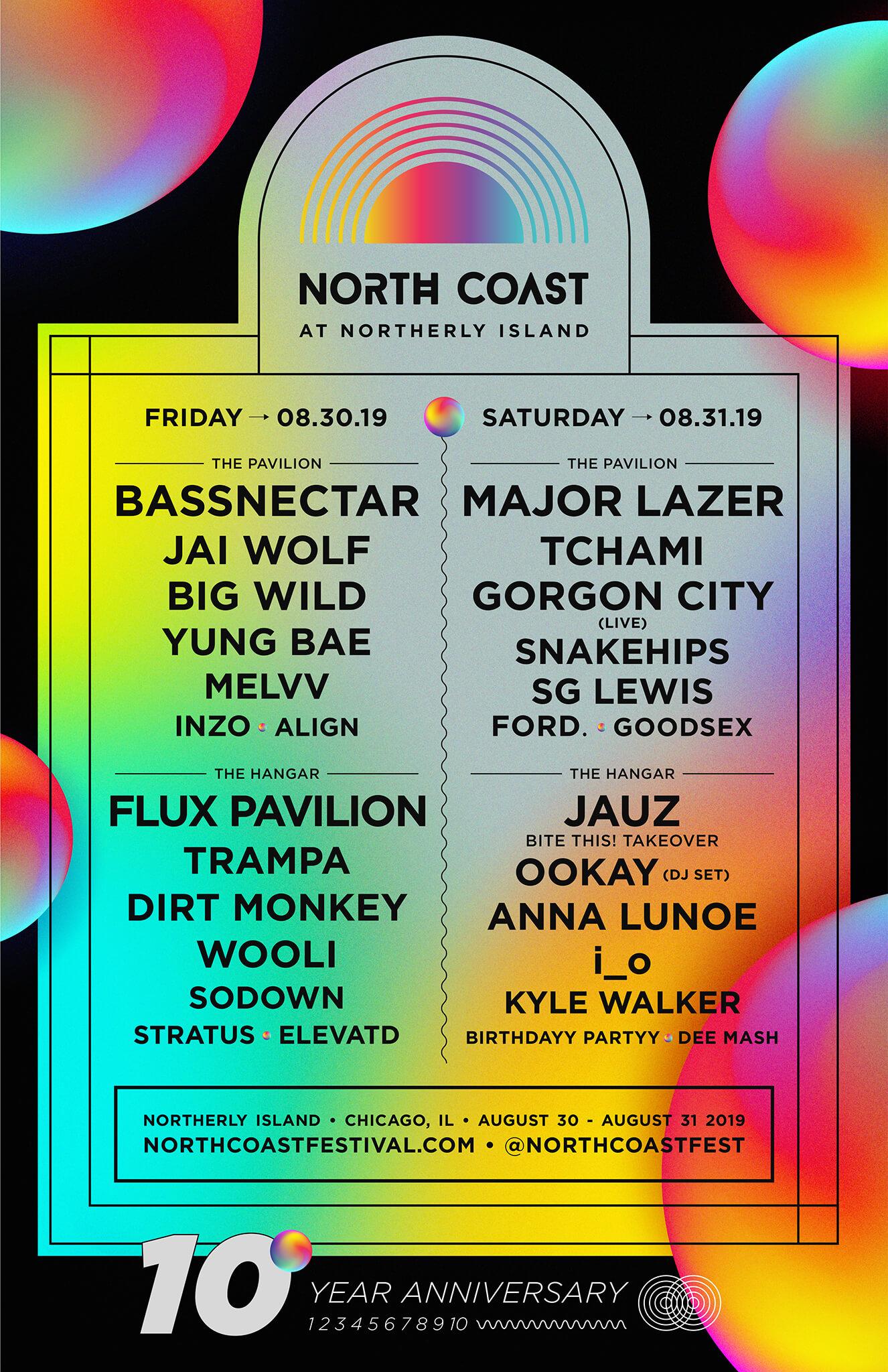 North Coast Music Festival - Friday at Huntington Bank Pavilion at Northerly Island