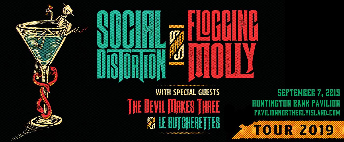 Social Distortion, Flogging Molly & The Devil Makes Three at Huntington Bank Pavilion at Northerly Island