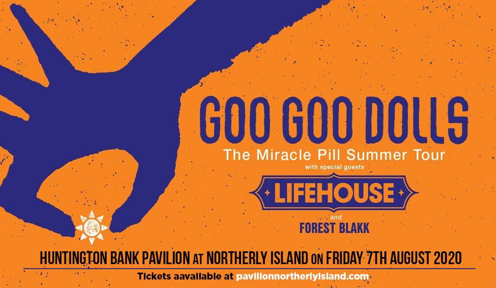 Goo Goo Dolls & Lifehouse at Huntington Bank Pavilion at Northerly Island