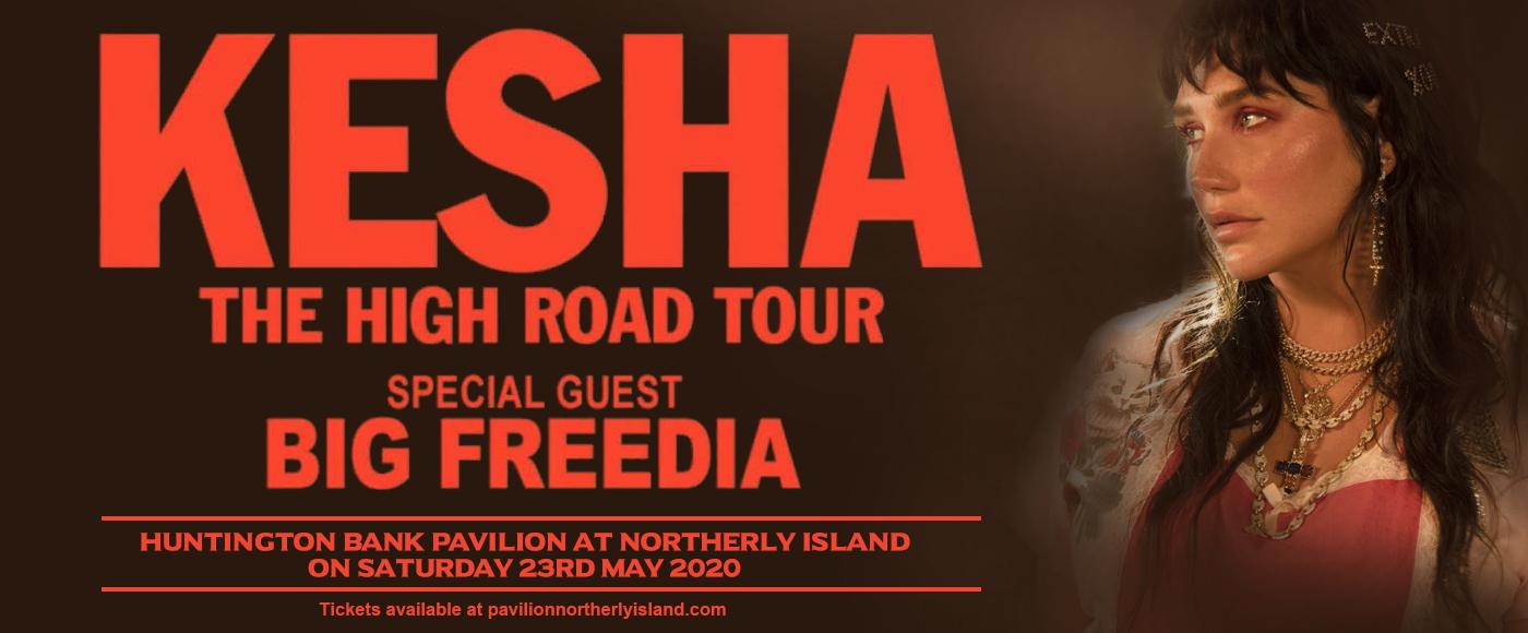Kesha & Big Freedia at Huntington Bank Pavilion at Northerly Island
