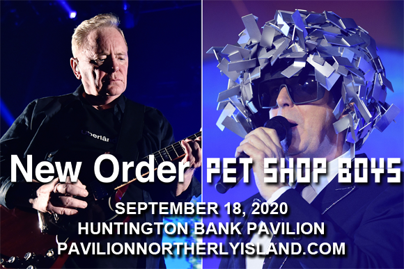 New Order & Pet Shop Boys at Huntington Bank Pavilion at Northerly Island