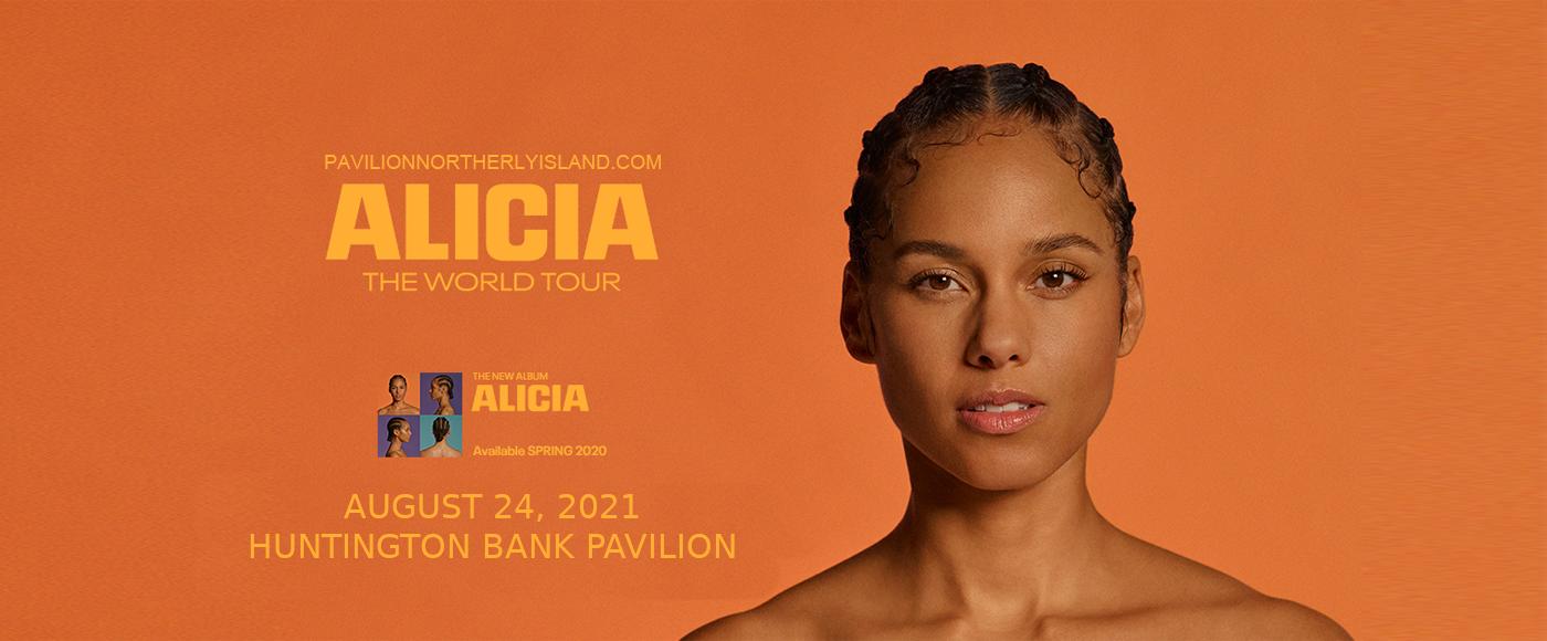 Alicia Keys at Huntington Bank Pavilion at Northerly Island
