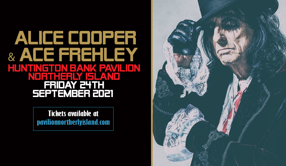 Alice Cooper & Ace Frehley at Huntington Bank Pavilion at Northerly Island