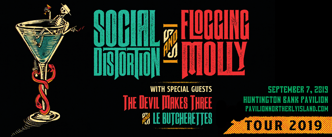 Social Distortion, Flogging Molly & The Devil Makes Three